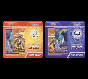 포켓몬 카드 게임 뱃지 세트「솔가레오」「루나아라」