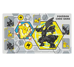 포켓몬 카드 게임 플레이매트 「피카츄&제크로무」