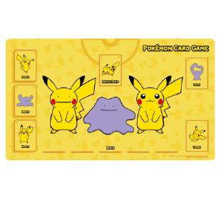 포켓몬 카드 게임 플레이매트 「피카츄&메타몽」