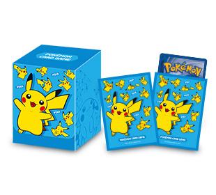 포켓몬 카드 게임 덱 케이스, 카드 실드 「피카츄 블루」