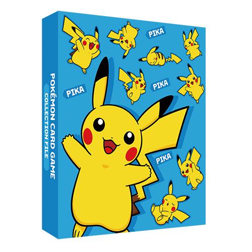 포켓몬 카드 게임 링 바인더 「피카츄 블루」