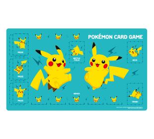 포켓몬 카드 게임 플레이매트 「피카츄 그린」