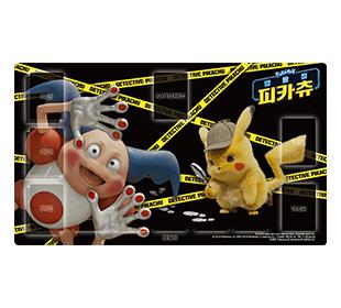 포켓몬 카드 게임 플레이매트 「명탐정 피카츄 마임맨」