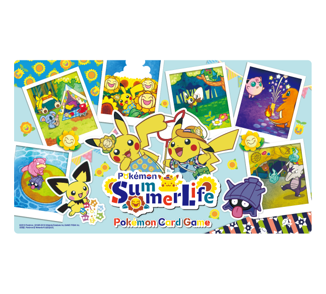 포켓몬 카드 게임 플레이매트 「Summer Life」