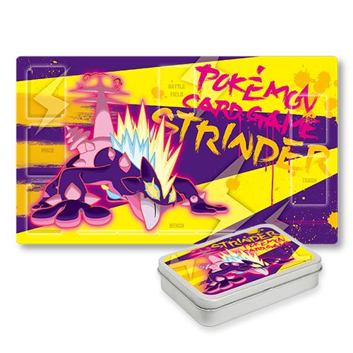 포켓몬 카드 게임 플레이매트 틴 케이스 세트 「거다이맥스 스트린더」