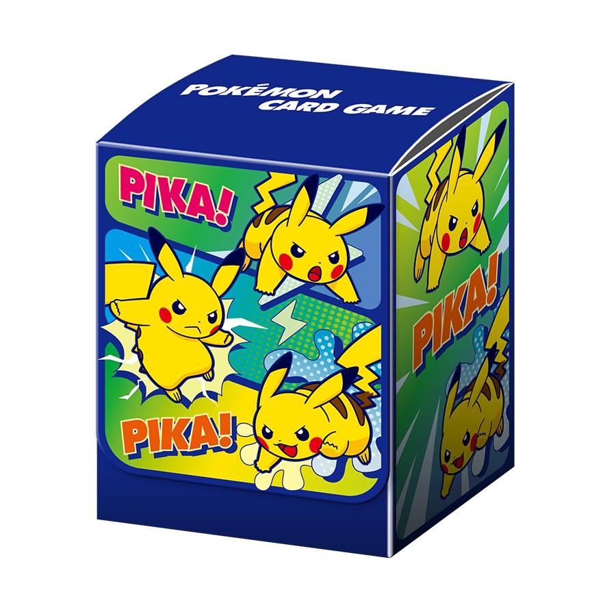 포켓몬 카드 게임 덱 케이스 「피카츄 카툰」