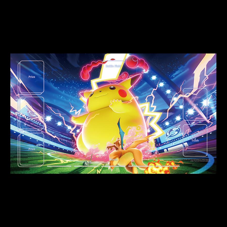 포켓몬 카드 게임 플레이매트 「거다이맥스 피카츄」