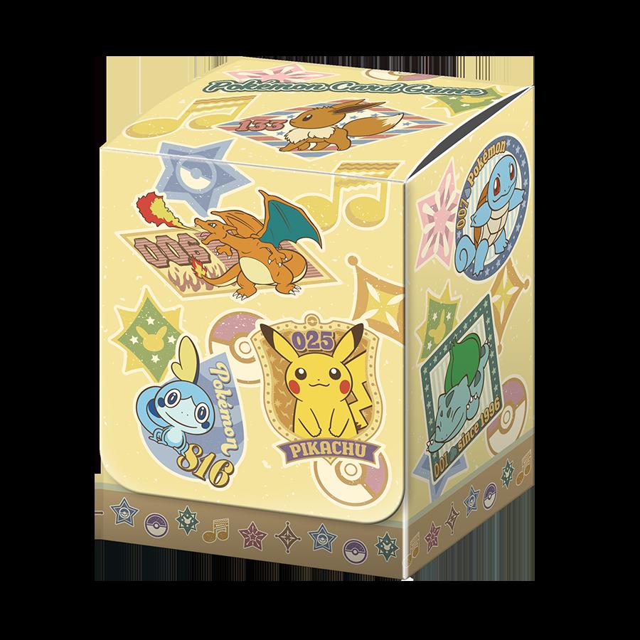 포켓몬 카드 게임 덱 케이스 「Retro sticker collection」
