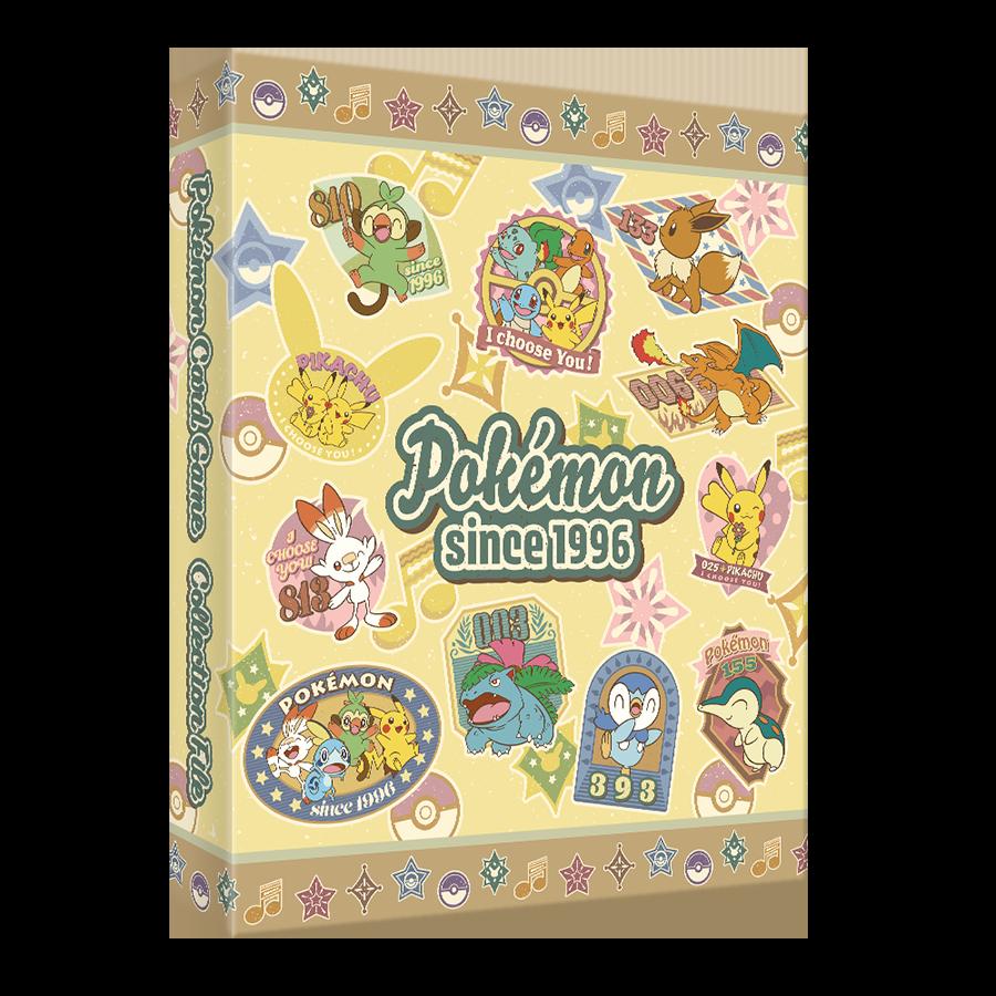 포켓몬 카드 게임 링 바인더 「Retro sticker collection」