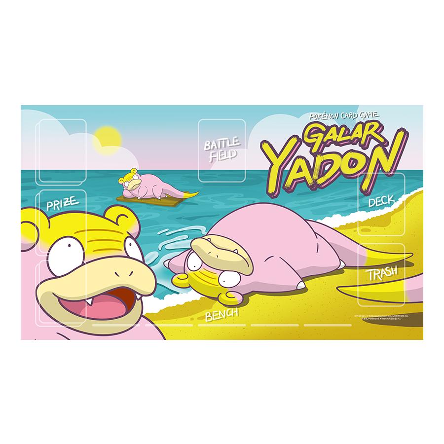 포켓몬 카드 게임 플레이매트 「가라르 야돈」